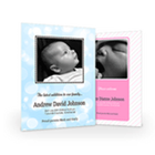 custom photo baby birth announcements