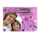 custom photo thank you cards